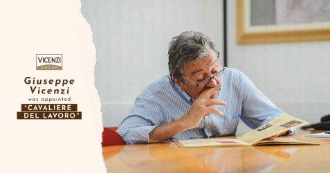Eine wichtige Auszeichnung für unseren Präsidenten, Giuseppe Vicenzi